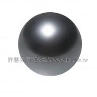 3mm施華洛5810水晶珍珠298黑珍珠-100個