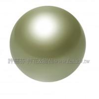 8mm施華洛5810水晶珍珠393秋香綠-10個