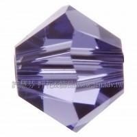 5301角施華洛珠539-4mm薰衣草紫-50個