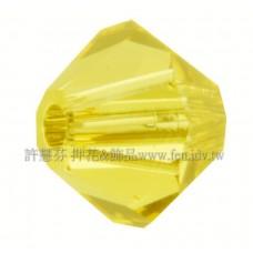 5301施華洛角珠226-3mm明亮黃玉-50個