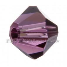 5301施華洛角珠204-3mm紫水晶-50個