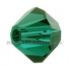 5301施華洛角珠205-3mm祖母綠-50個
