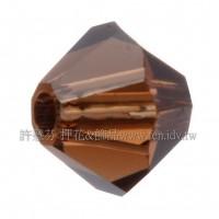 5301施華洛角珠220-3mm煙燻咖啡-50個