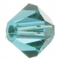 5301施華洛角珠229-4mm深湖藍綠-50個