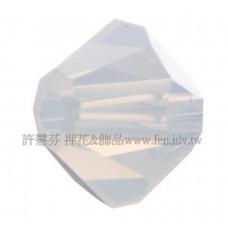 5301施華洛角珠234-4mm雪蛋白-50個