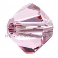 5301施華洛角珠223-3mm粉紅玫瑰-50個