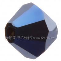 施華洛5301角珠001MEBL2-5mm午夜藍AB-30個