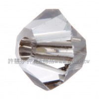 5301施華洛角珠001STAIN-3mm炫彩銀灰-50個