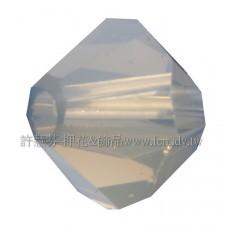 5301施華洛角珠383-4mm4mm淺灰蛋白-50個