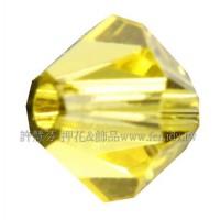 5301施華洛角珠249-4mm檸檬黄;-50個