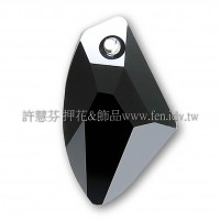 施華洛6656銀河系280Jet39mm黑寶石1個