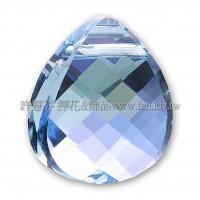 施華洛6012三角水滴202_15.4*14mm 水藍AB 1個