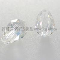 5500直洞水滴001-9*6mm晶亮透明AB-5個