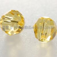 5000施華洛圓珠226-6mm月光黃色-10個