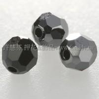 5000施華洛圓珠280HEM-4mm炫彩黑色-20個