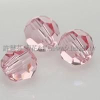 5000施華洛圓珠223-4mm淡玫瑰色-20個