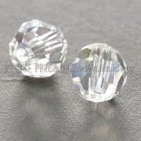 5000施華洛圓珠001-6mm晶亮透明-10個
