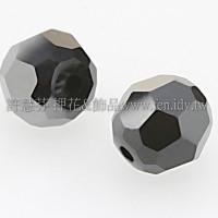 5000施華洛圓珠280HEM-5mm炫彩黑色-20個