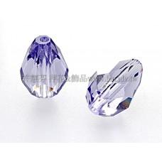 5500直洞水滴539-9*6mm紫羅蘭-5個