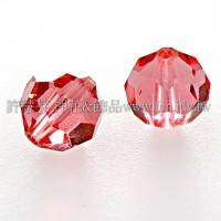 5000施華洛圓珠542-6mm珊瑚紅-10個