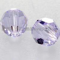 5000施華洛圓珠371-6mm木槿紫-10個