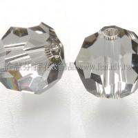 5000施華洛圓珠215-8mm亮岩灰彩-10個