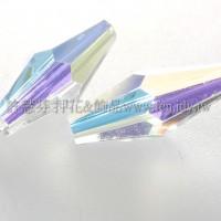 5205施華洛菱形管珠203-15*6mm晶亮透明+AB-6個
