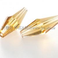 5205施華洛菱形管珠203-15*6mm陽橙色-6個