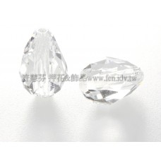 5500直洞水滴001-10.5*7mm晶亮透明-5個