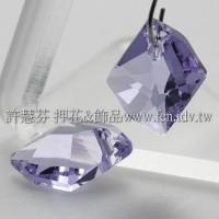 施華洛6680宇宙石紫羅蘭14MM-1個