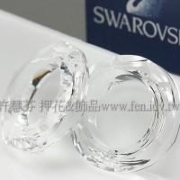 施華洛4139圓框形-晶瑩透明-14MM-1個