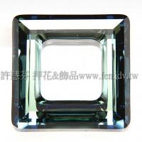 施華洛4439方形水藍綠20mm-1個