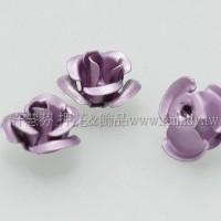 鋁合金薔薇花形珠6mm-10個