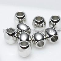 5.5mm銅珠代白-5個