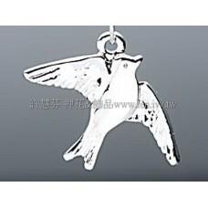 985 天使和平鴿造形墜飾_20*15mm1包/4個