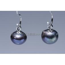 炫彩黑珍珠墜飾-7mm-2個