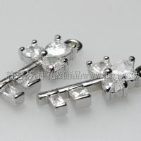 水鑽幸運鑰匙-22*10mm-2個