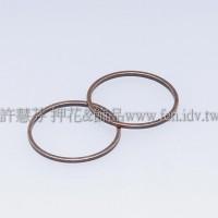 20mm圓形銅製圈-1包-5個