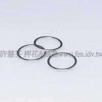 14mm圓形銅製圈-1包-5個