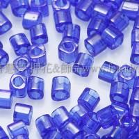 1.5mm方管日本珠-透明深藍色-5g