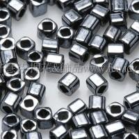 1.5mm方管日本珠-金屬赤鐵礦色-5g