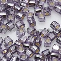 1.5mm方管日本珠-紫灌銀色-5g