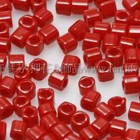 1.5mm方管日本珠-不透明辣椒紅色-5g
