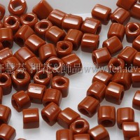 1.5mm方管日本珠-不透明磚紅咖啡色-5g