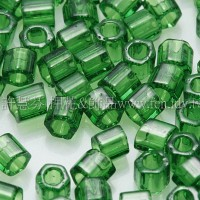 3mm方管日本珠透明牧草綠色--10g