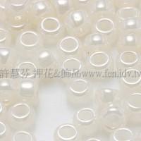 3mm圓管日本珠斯里蘭卡珠光象牙白色--10g