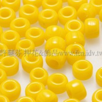 3mm圓管日本珠不透明陽橙色--10g
