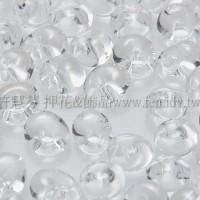 3mm包包日本珠-透明水晶色-10g