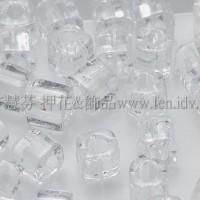 3mm方管日本珠透明水晶色--10g