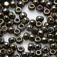 1.5mm日本珠-金屬咖啡鳶尾花色-5g